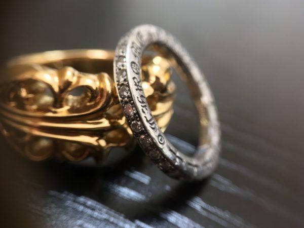 アフターダイヤモンドシルバーリング